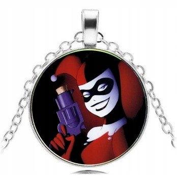Wisiorek Naszyjnik Medalion Harley Quinn Dc Komiks