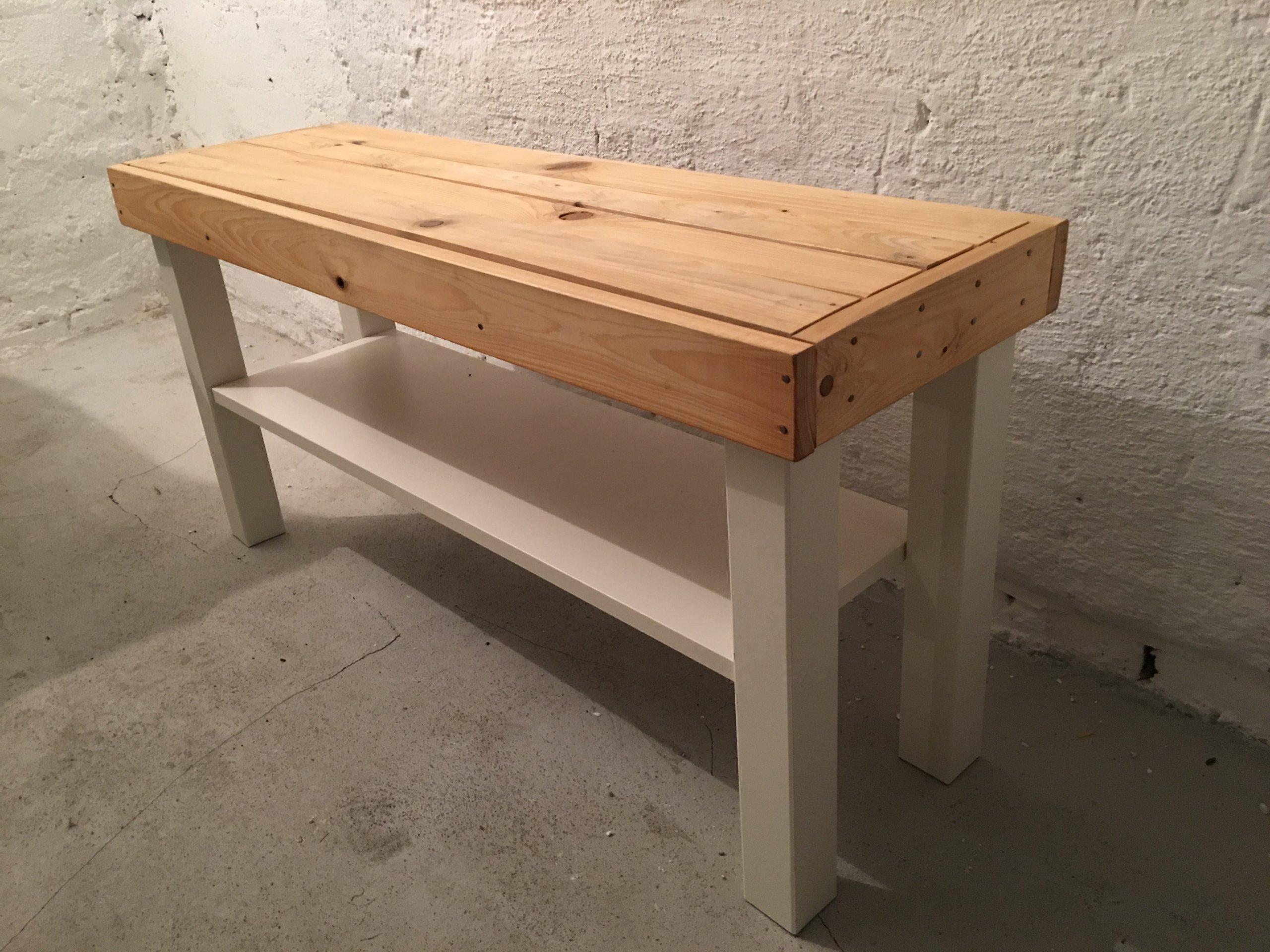 ławka Z Drewna Do Przedpokoju W Idealnym Stanie 7145801726