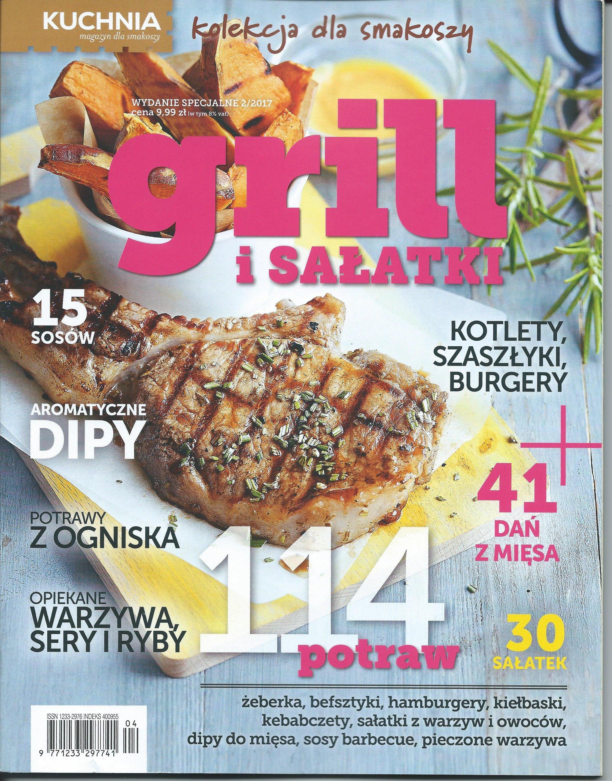 Grill I Sałatki Kuchnia Wydanie Specjalne 22017