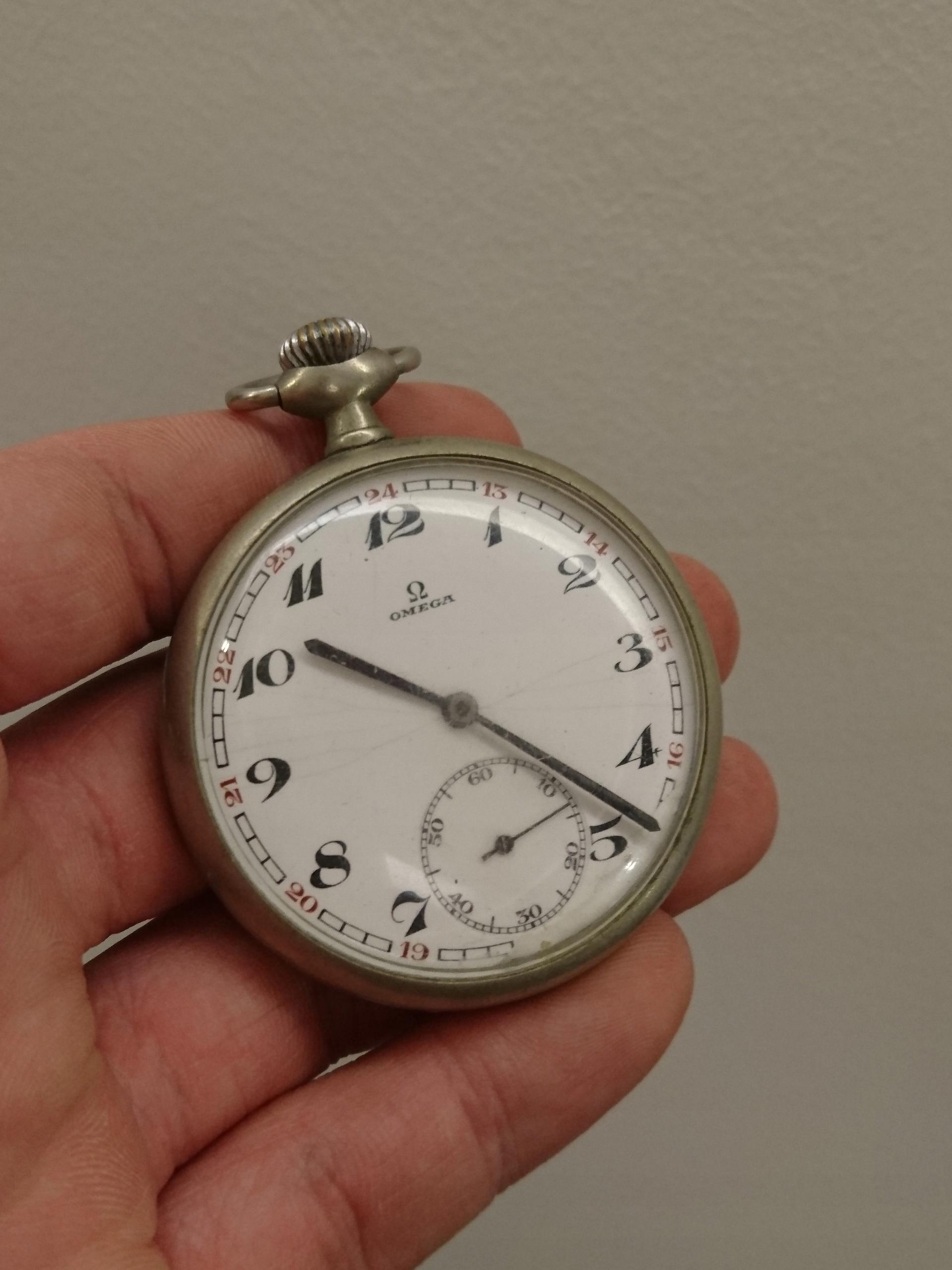 omega zegarek kieszonkowy klasyczny, sprawny