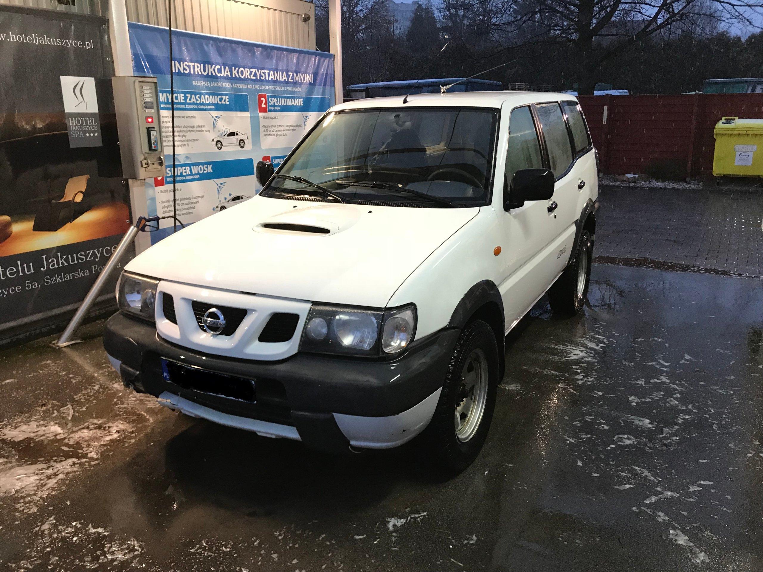 Nissan Terrano II 2.7td 2002r., Dobry stan 191tys!