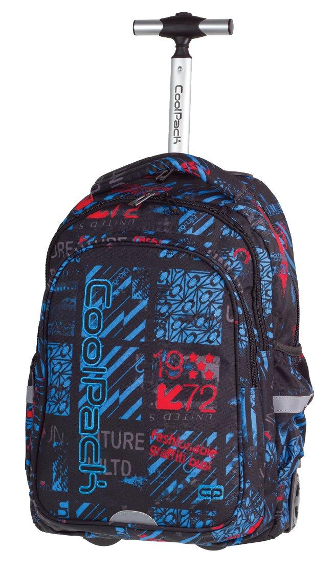 8f0dcafacac46 Plecak szkolny młodzieżowy kółkach COOLPACK JUNIOR - 7056714429 ...