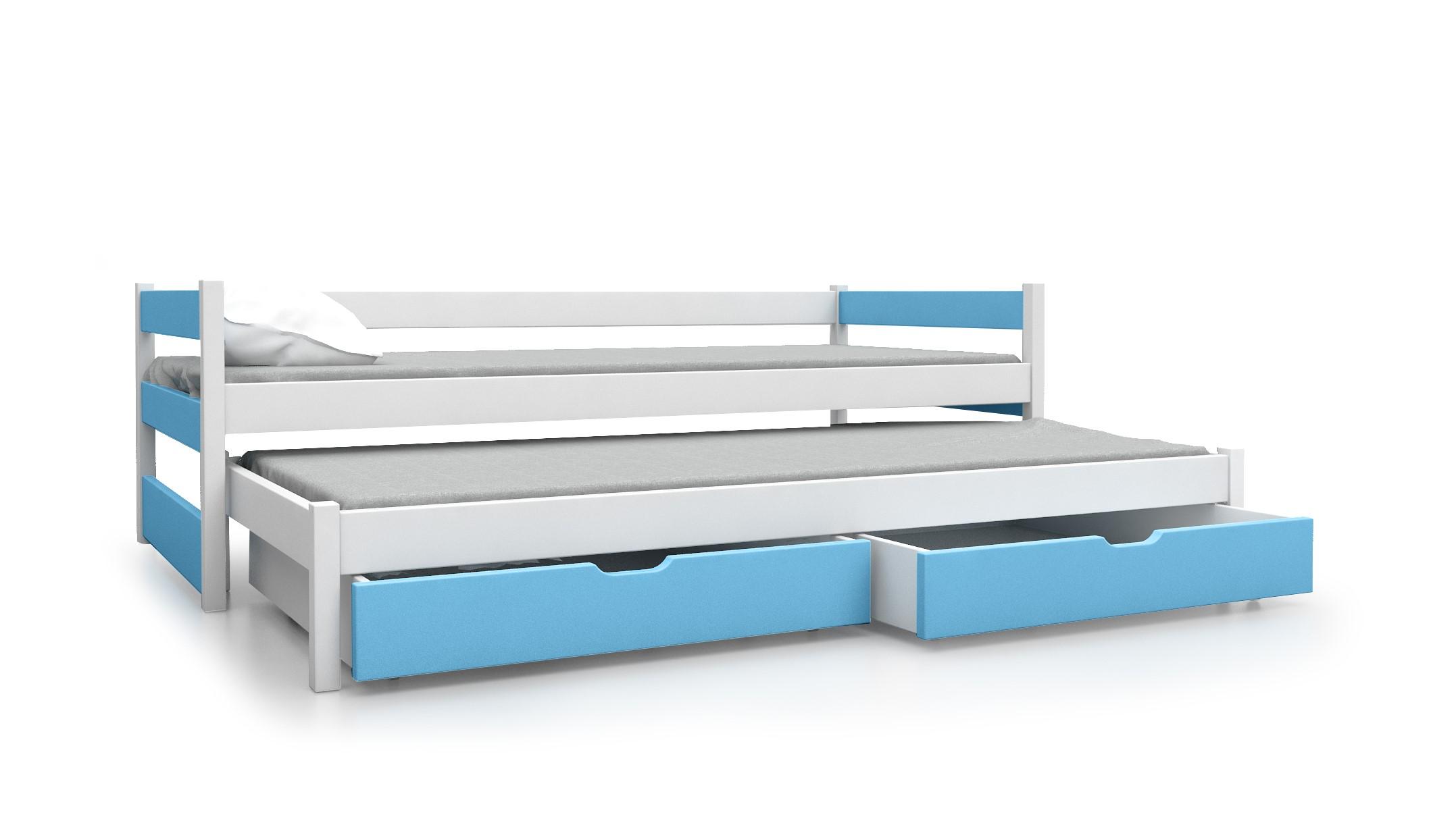 Podwójne łóżko Młodzieżowe Tanio Materac Gratis