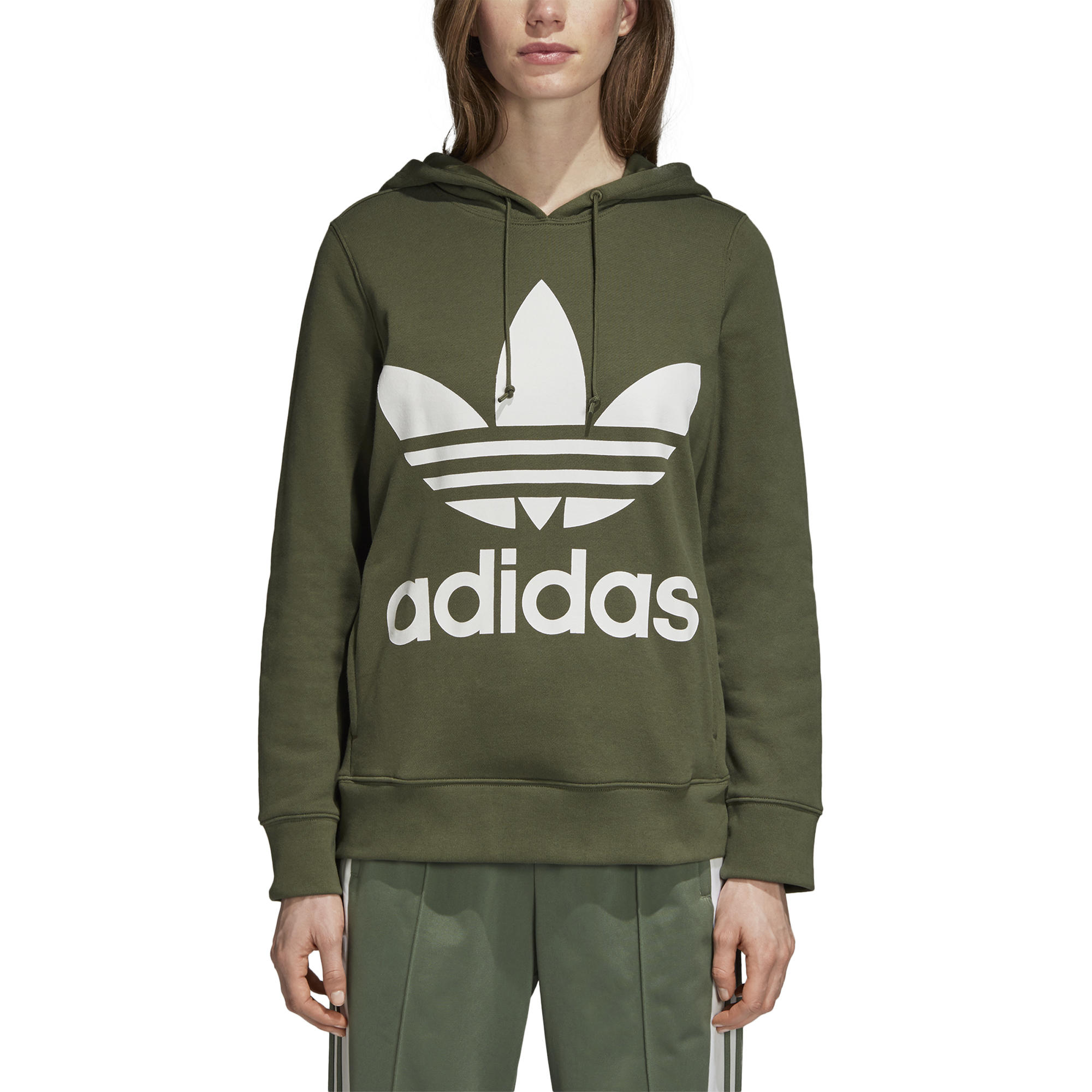 Bluza damska z kapturem Adidas Originals Trefoil CE2408