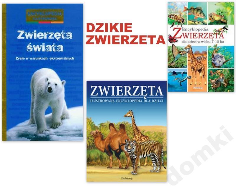 fb97007f329ab4 ENCYKLOPEDIE DLA DZIECI ZWIERZĘTA ŚWIATA - 5550907682 - oficjalne ...