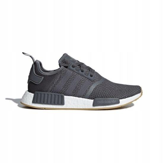 adidas Originals NMD_R1 Sneakersy niskie grey fivecore black