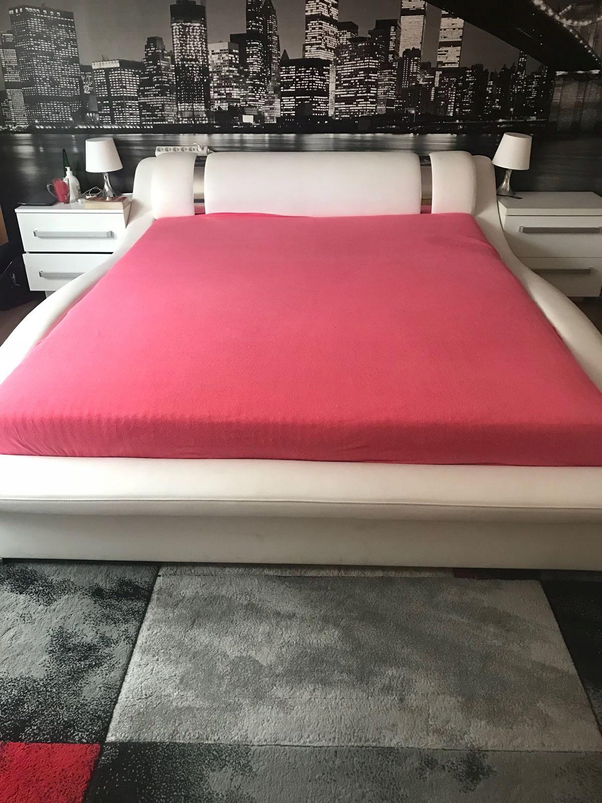łóżko Bianco 160x200 Jak Nowe Kolekcja Agata Meble