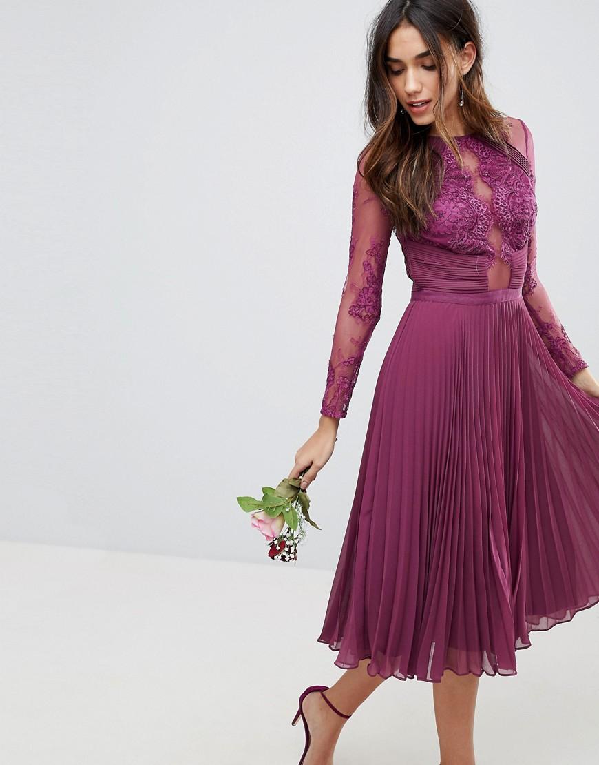 Sukienka Plisowana Koronka Wesele Xxl 44 7128738760 Oficjalne
