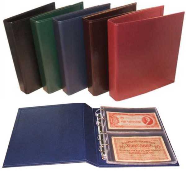 Album na banknoty 23 x 26 cm 901-T2 zielony