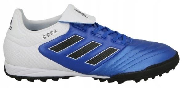 Buty piłkarskie turfy Copa 17.3 TF Adidas (biało niebieskie)