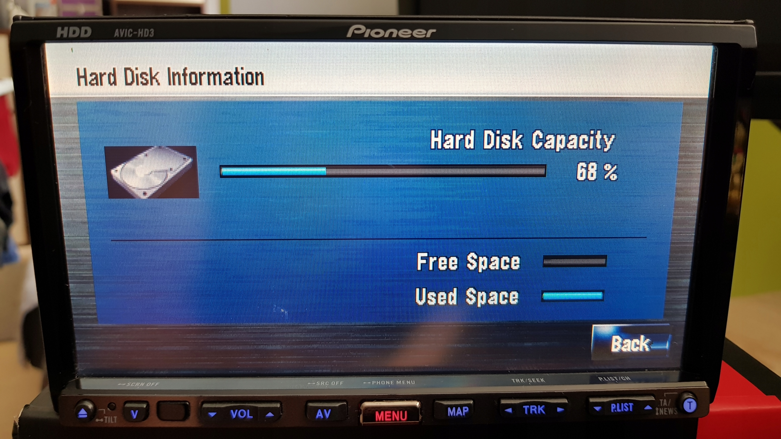 RADIO DVD NAWIGACJA GPS PIONEER AVIC-HD3 BCM - 7450050411