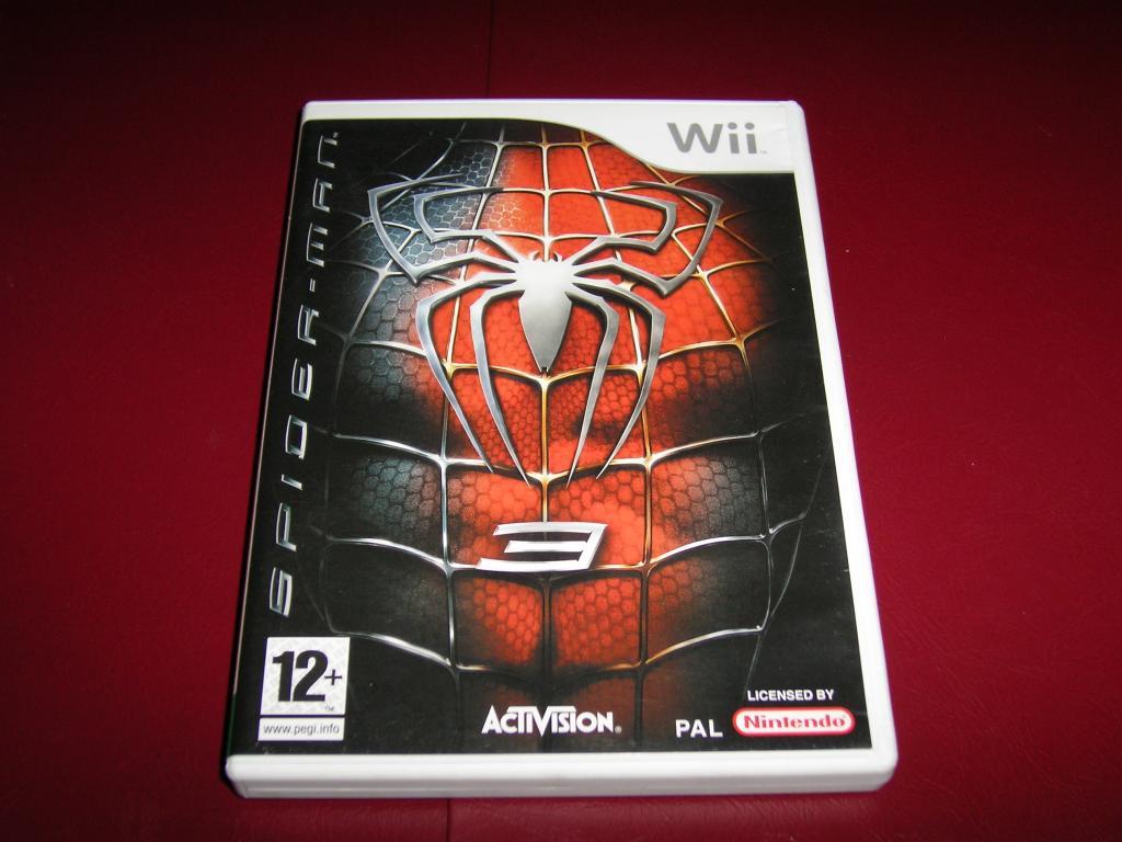gra wii - spider-man 3 - 7447372824 - oficjalne archiwum allegro