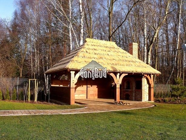 Altana Altanka Wiata Grillowa Garaż Domek Z Drewna 7270219996