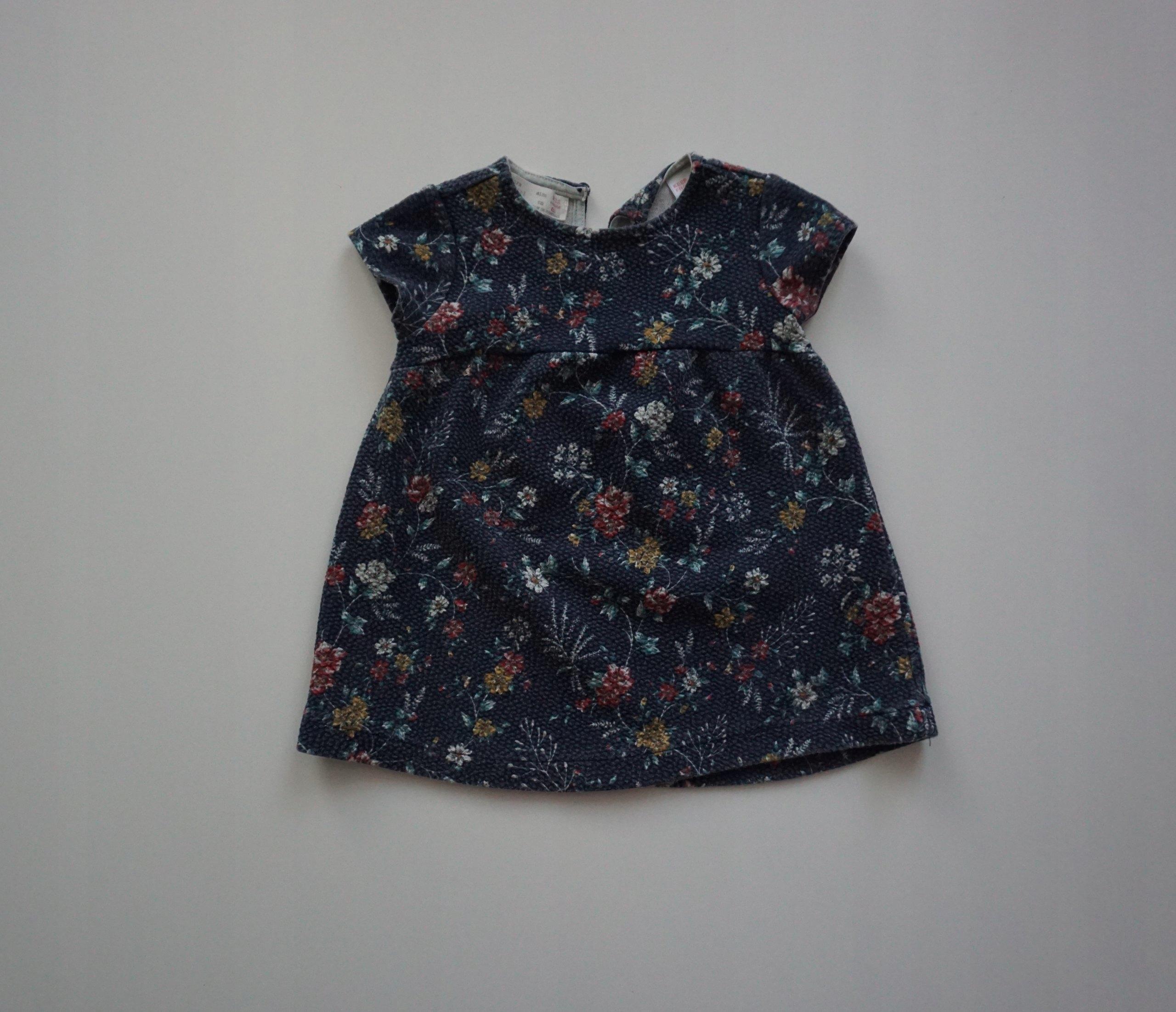 096fbaf31b Sukienka Zara r. 80 - 7597348405 - oficjalne archiwum allegro