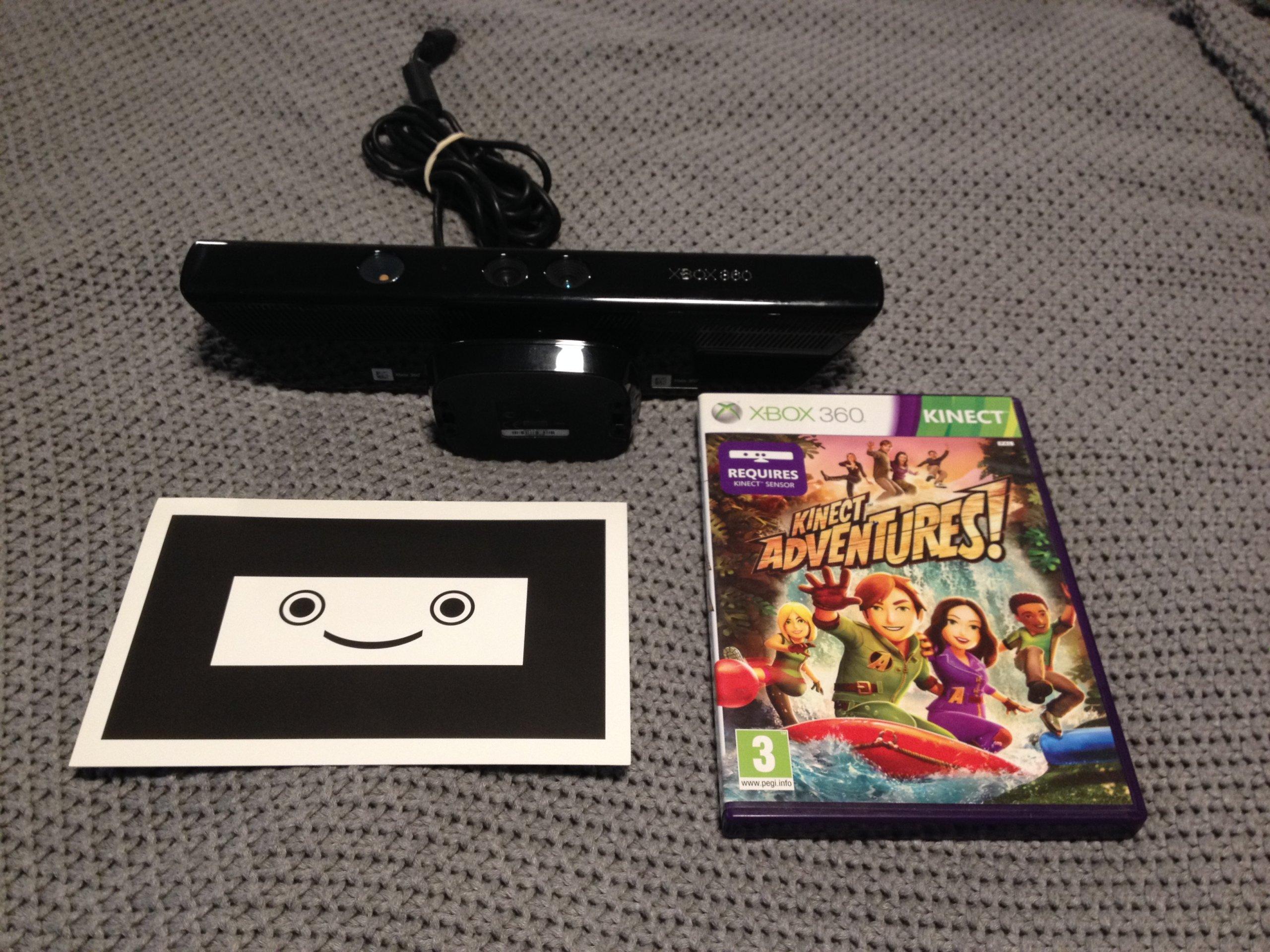 Kinect Sensor Xbox 360 Gra Karta Kalibracyjna 7089778504
