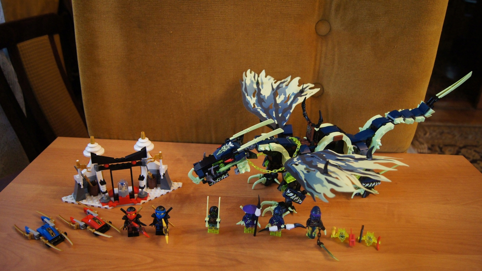 Lego Ninjago Possession 70736 Morro Dragon Kg Mix 7636505408