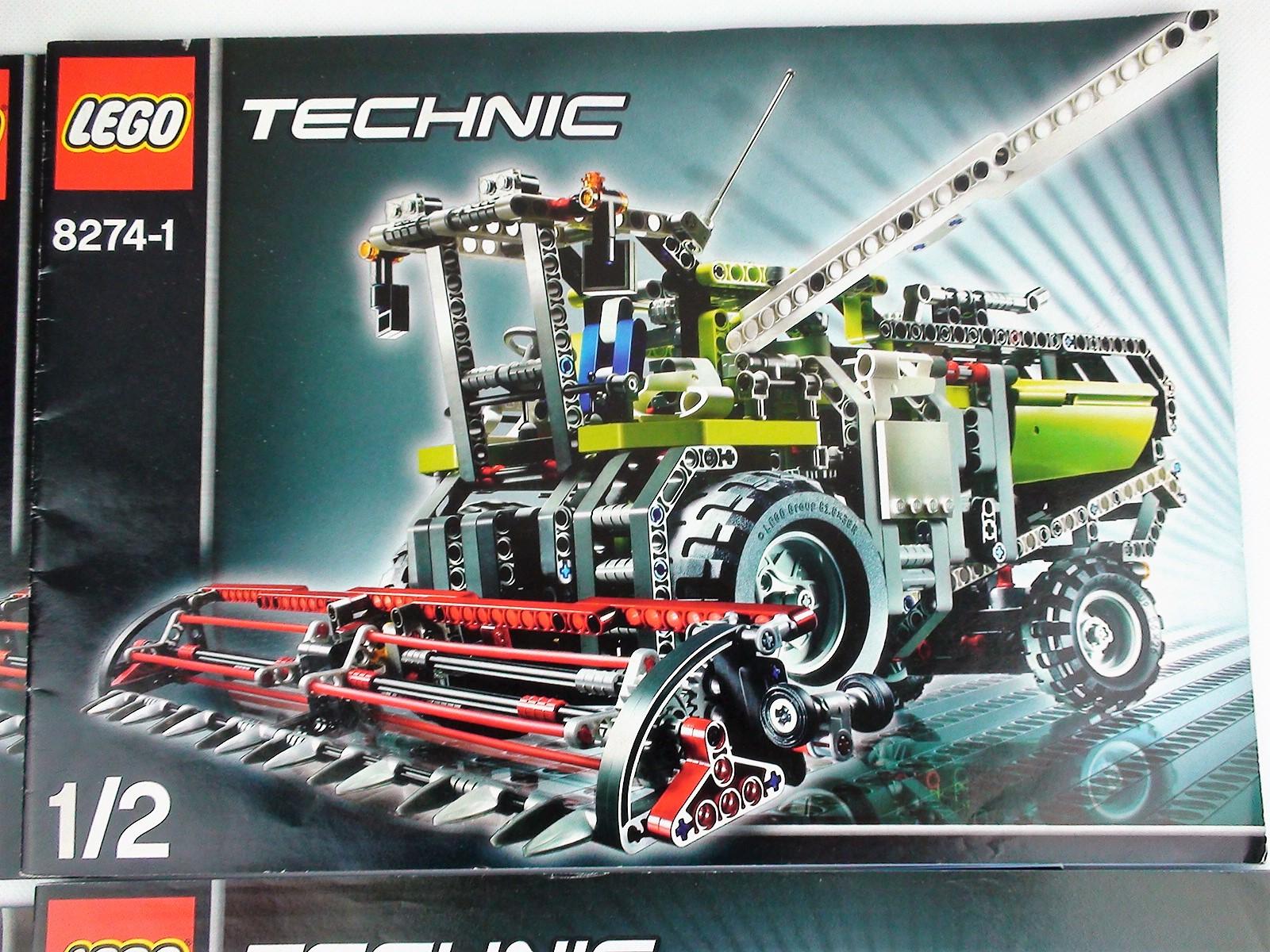 c31fe4f2fd5e60 Lego Technic 8274 Kombajn - 7354783175 - oficjalne archiwum allegro