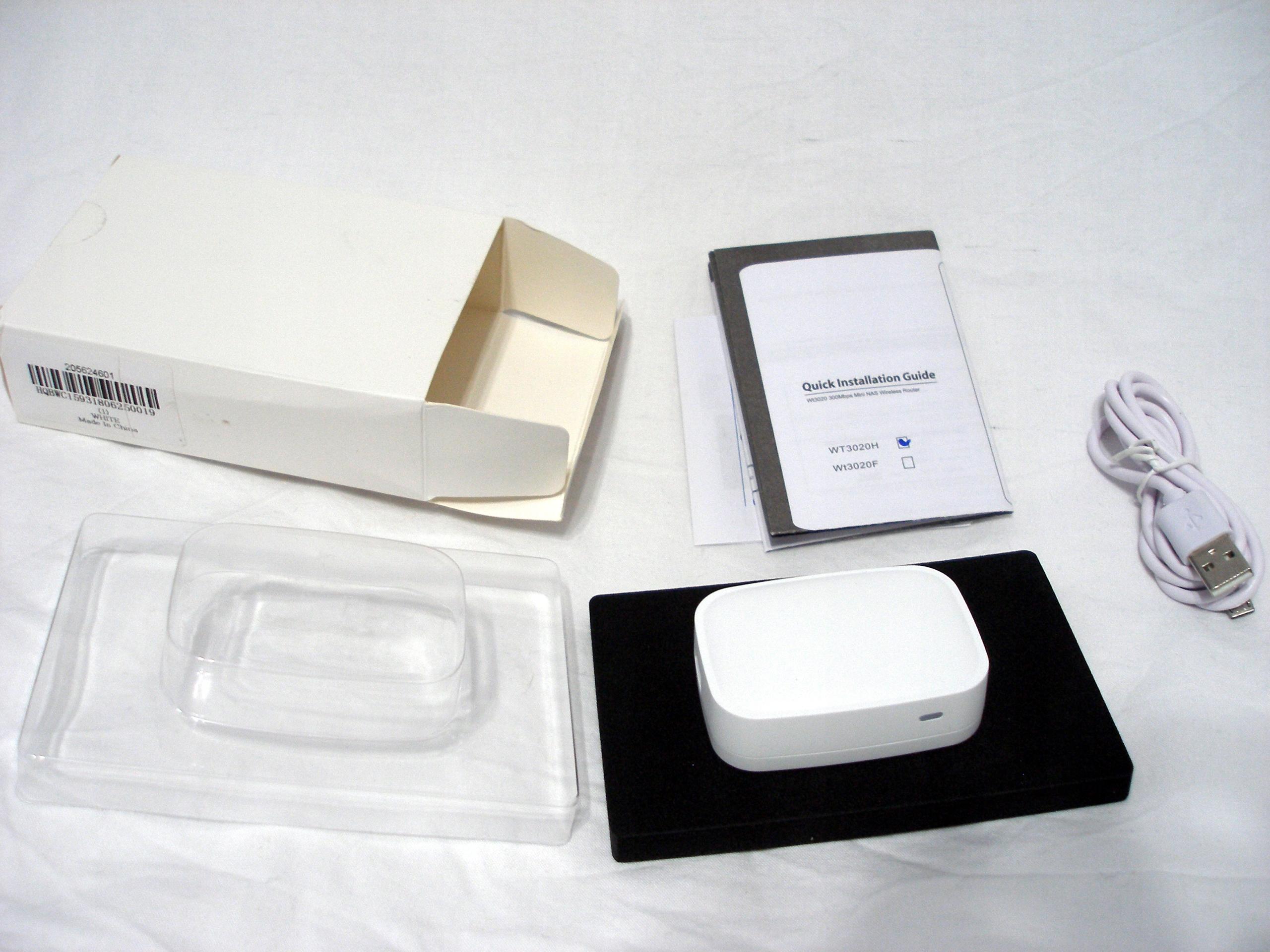 Mini Router WiFi WT3020H Nexx WT3020 OpenWrt USB - 7687058766