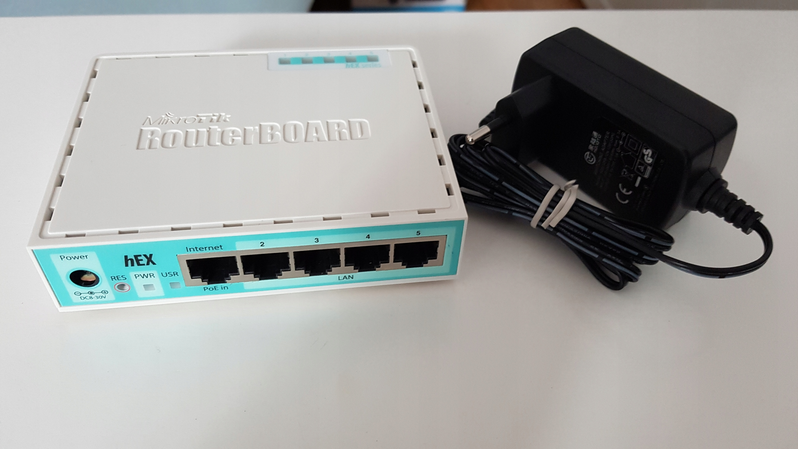 Mikrotik RouterBoard RB750Gr2 hEX 5xGbit
