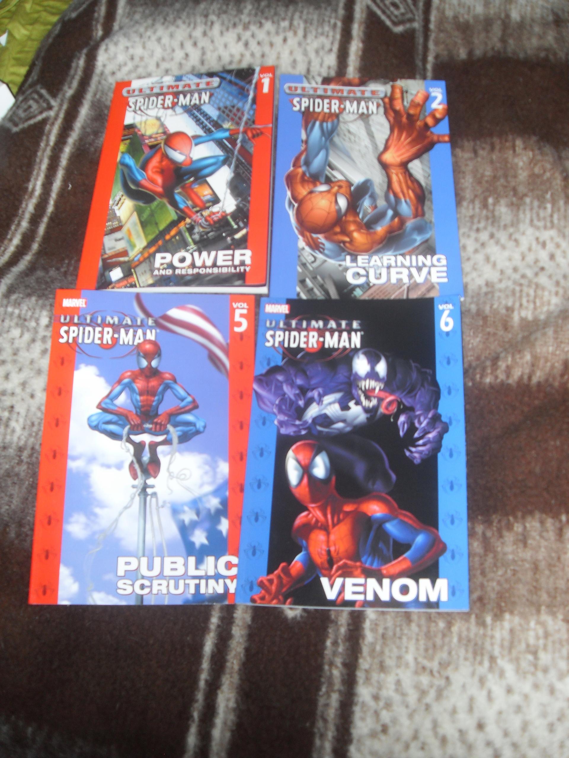 Ultimate Spider-Man vol 1,2,5,i 6 TPB Marvel