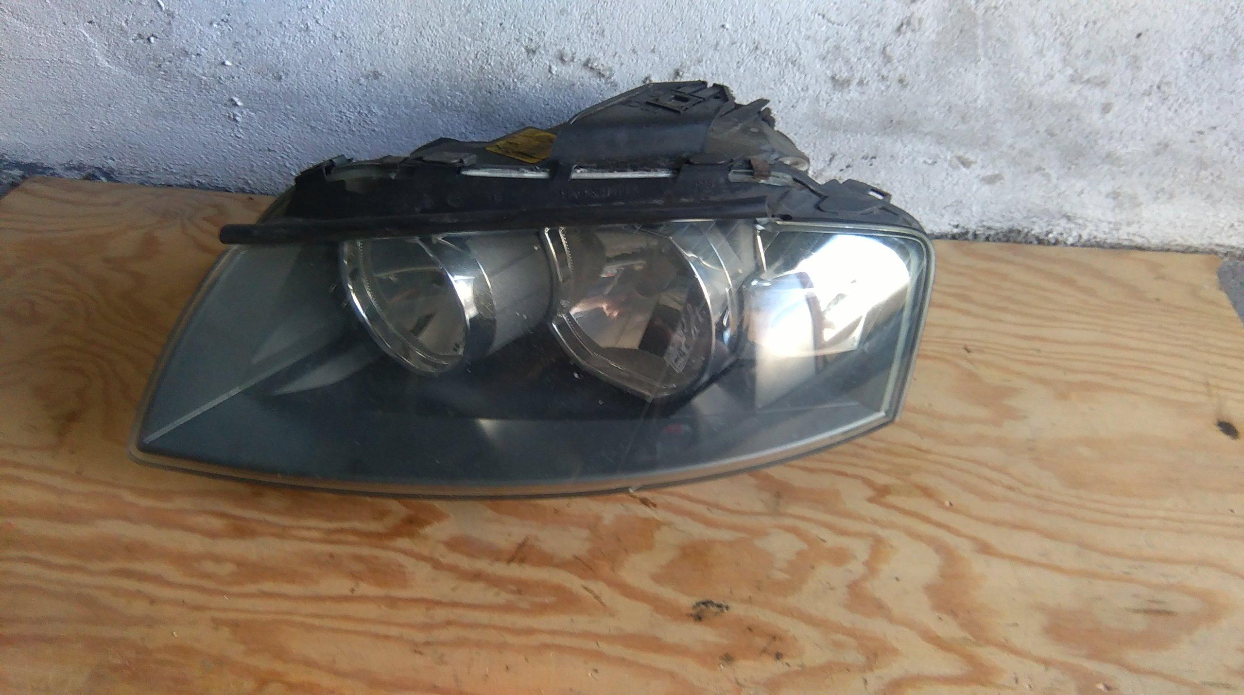 Audi A3 8p Lampa Lewy Przód Anglik Przed Lift 7220396918
