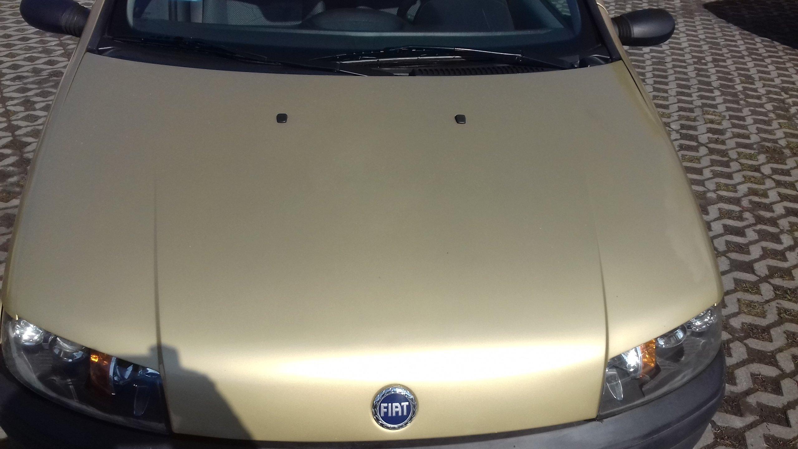 Maska przednia Fiat Punto II złota 527