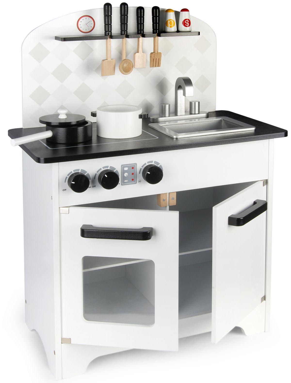 Kuchnia Drewniana Black White 102 246200 Wyprzedaz