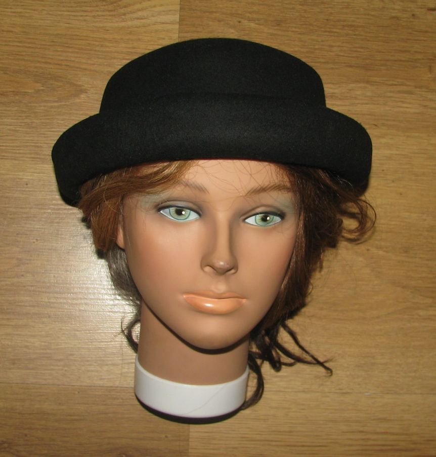 d4d915c3c H&M Nowy wełniany kapelusz melonik 56cm - 7258493798 - oficjalne ...