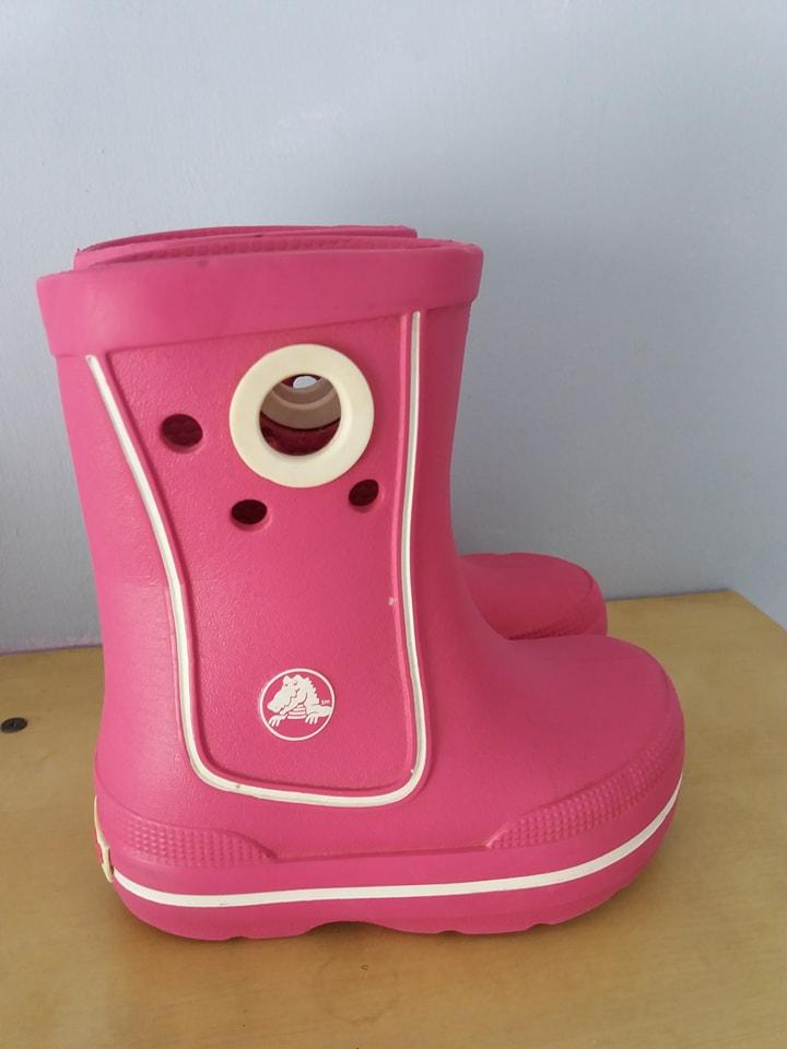dobrze znany sprzedaż obuwia ekskluzywne buty Buty Kalosze Crocs C 6-7 rozmiar 22-23