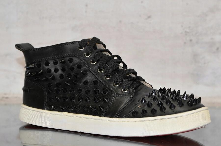 24db9cec094f0 CHRISTIAN LOUBOUTIN LOUIS SPIKES _ sneakers _ 44 - 7593287518 - oficjalne  archiwum allegro