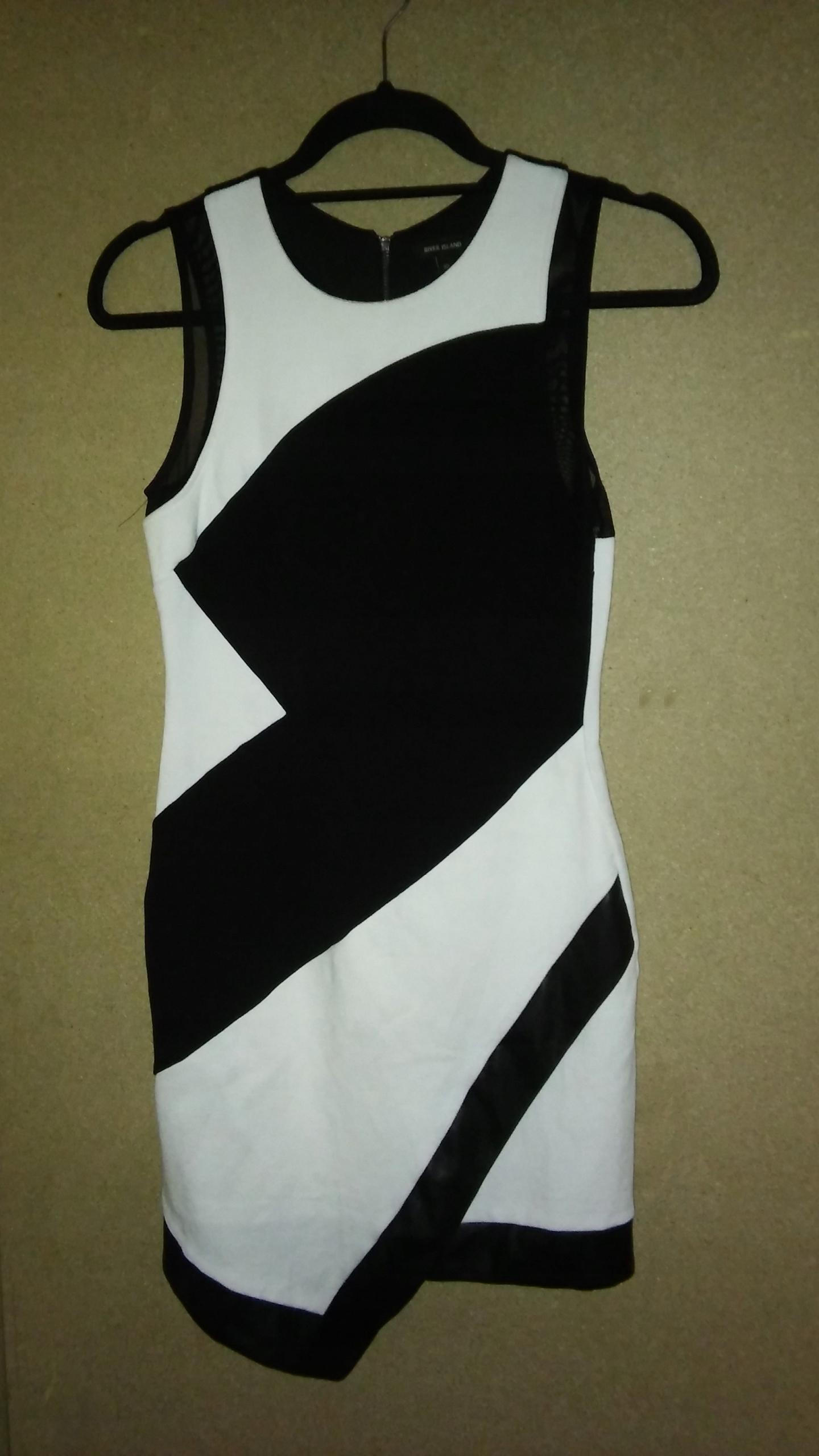 03cf464810d01f River Island asymetryczna sukienka ołówkowa midi 3 - 7679417613 ...