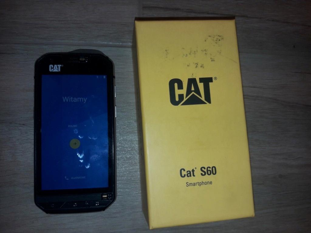 uroczy przemyślenia na temat niesamowite ceny cat s60 14 miesiecy gwarancji - jak nowy - 7747565586 ...