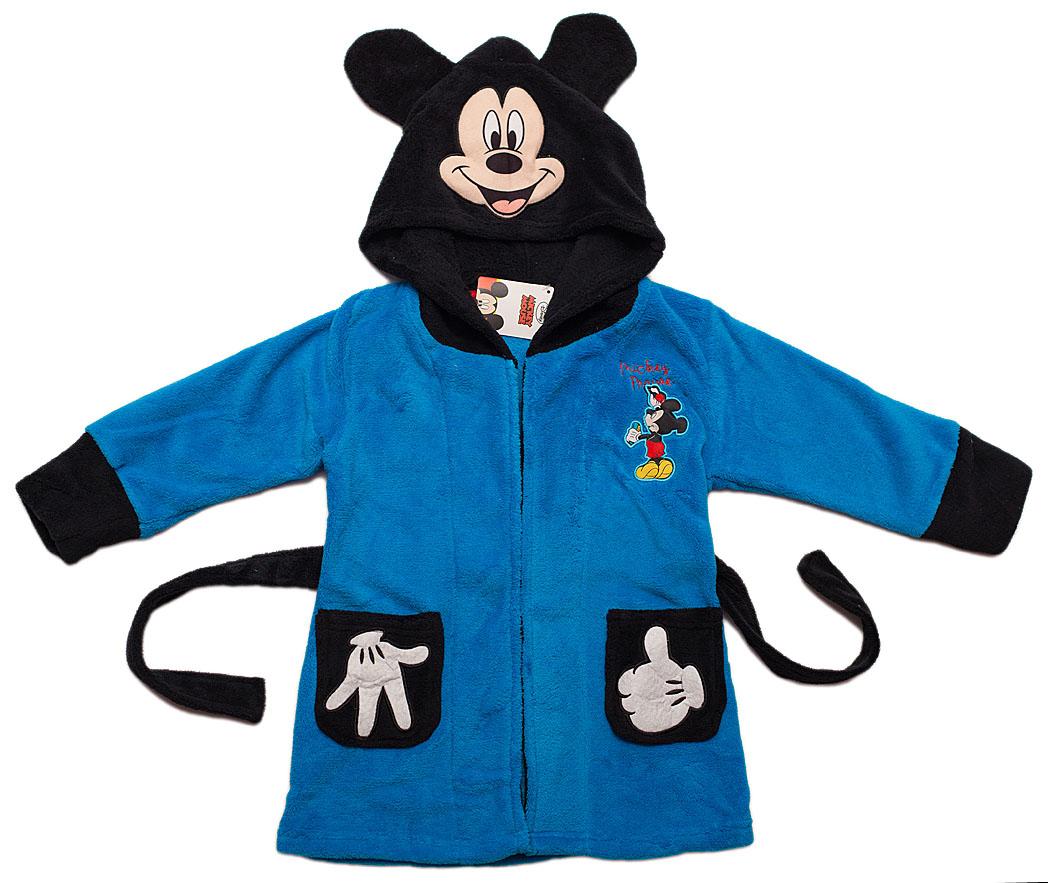 dda2975e5f09ae Mickey Mouse Szlafrok dziecięcy chłopiec uszy 94cm - 7270030649 ...