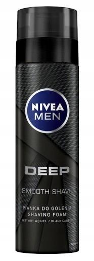 Nivea Pianka do golenia Deep 200ml