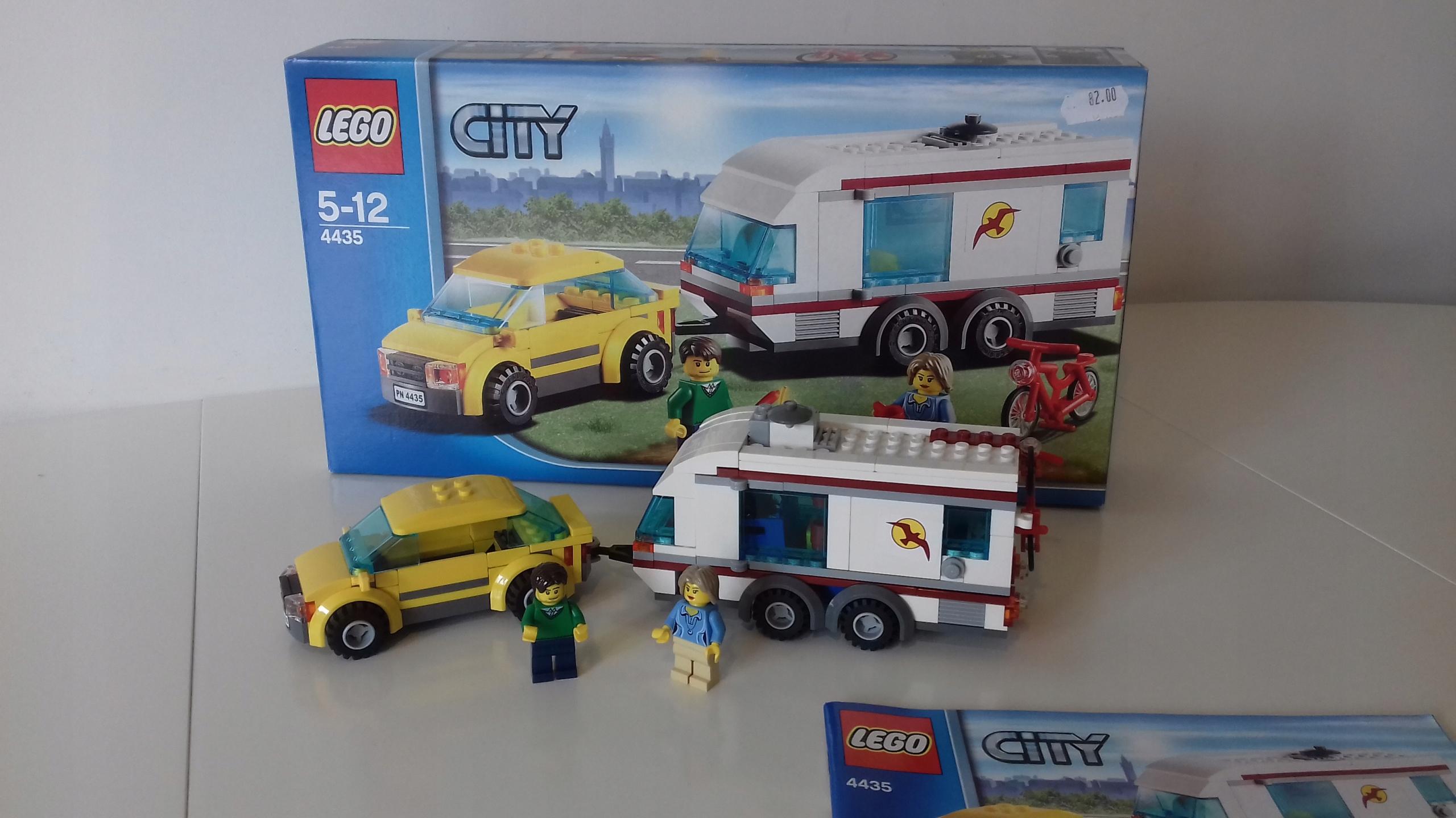 Lego City 4435 Samochód Z Przyczepą Kempingową 7676972333