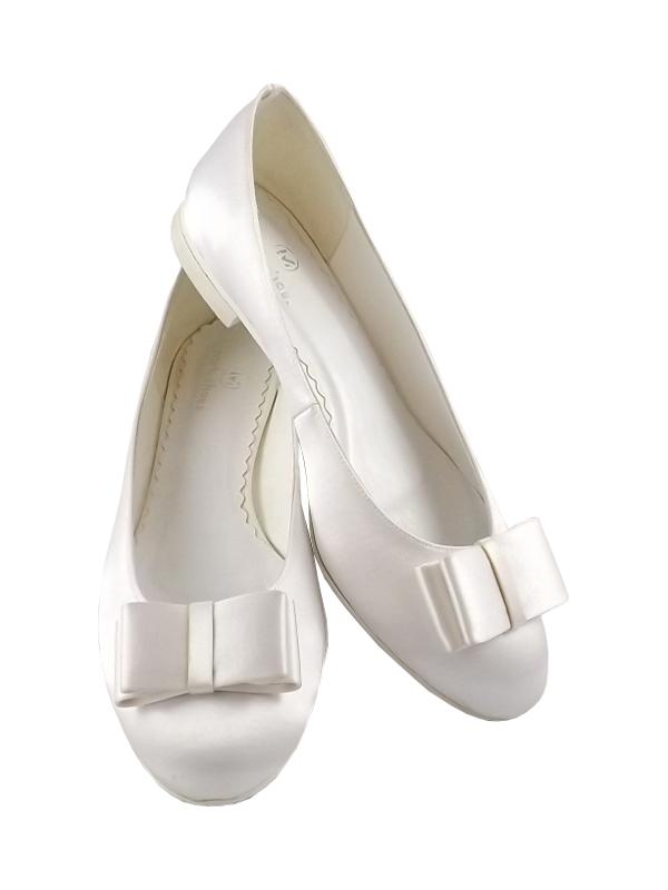 Nowe Baleriny Buty ślubne Baletki Płaskie Rozmiary 7072833329
