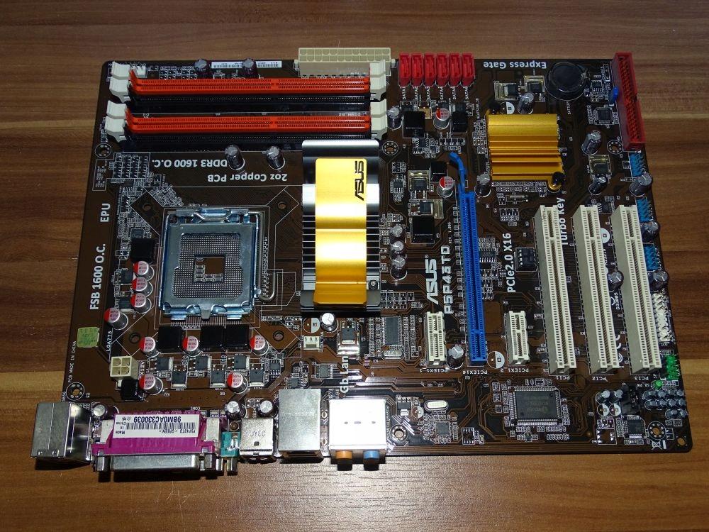 ASUS P5P43TD  - 7636828995 - oficjalne archiwum allegro