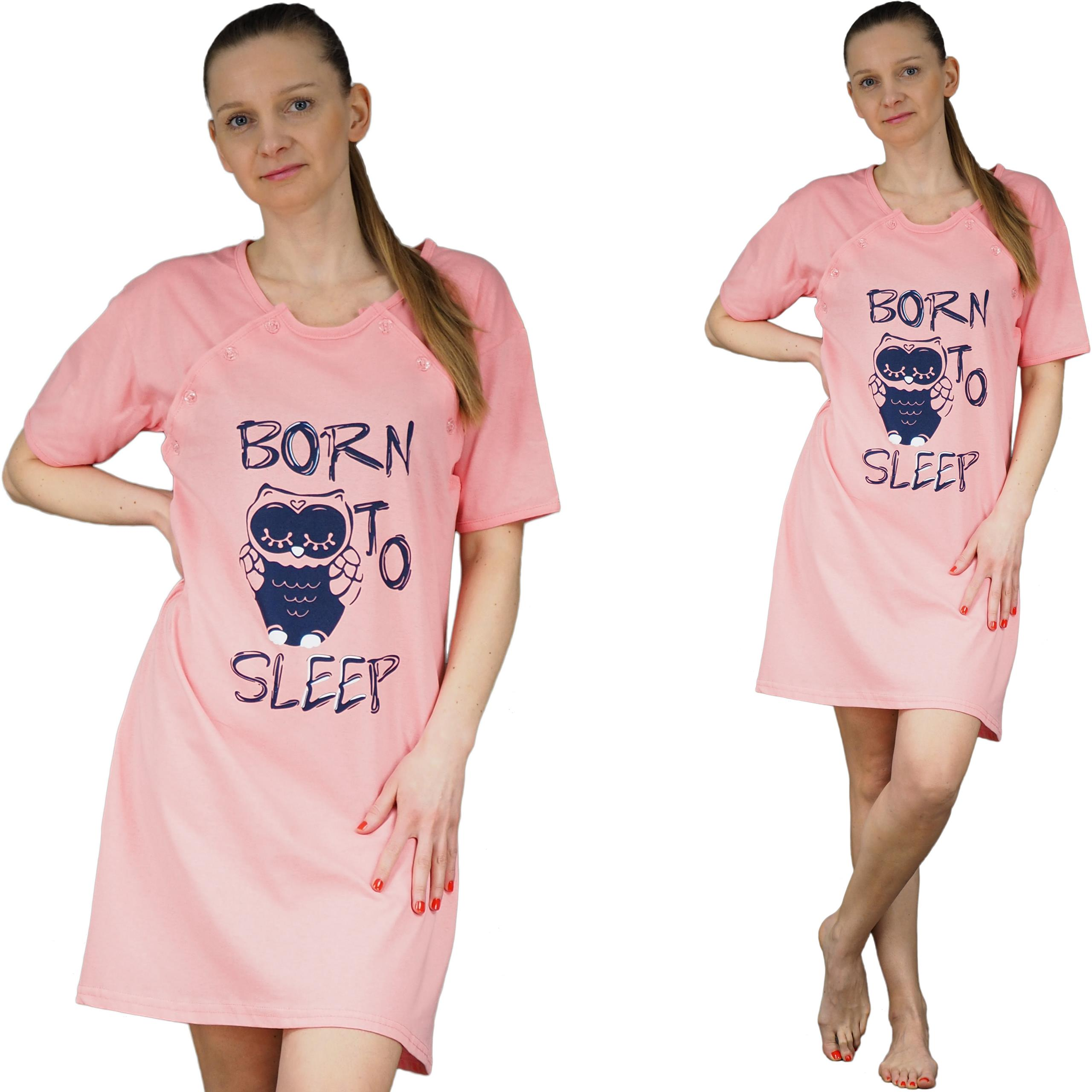 f21298ec48d3b4 KOSZULA NOCNA XL 42 piżama karmienia s-2xl WZORY ! - 6805738281 ...