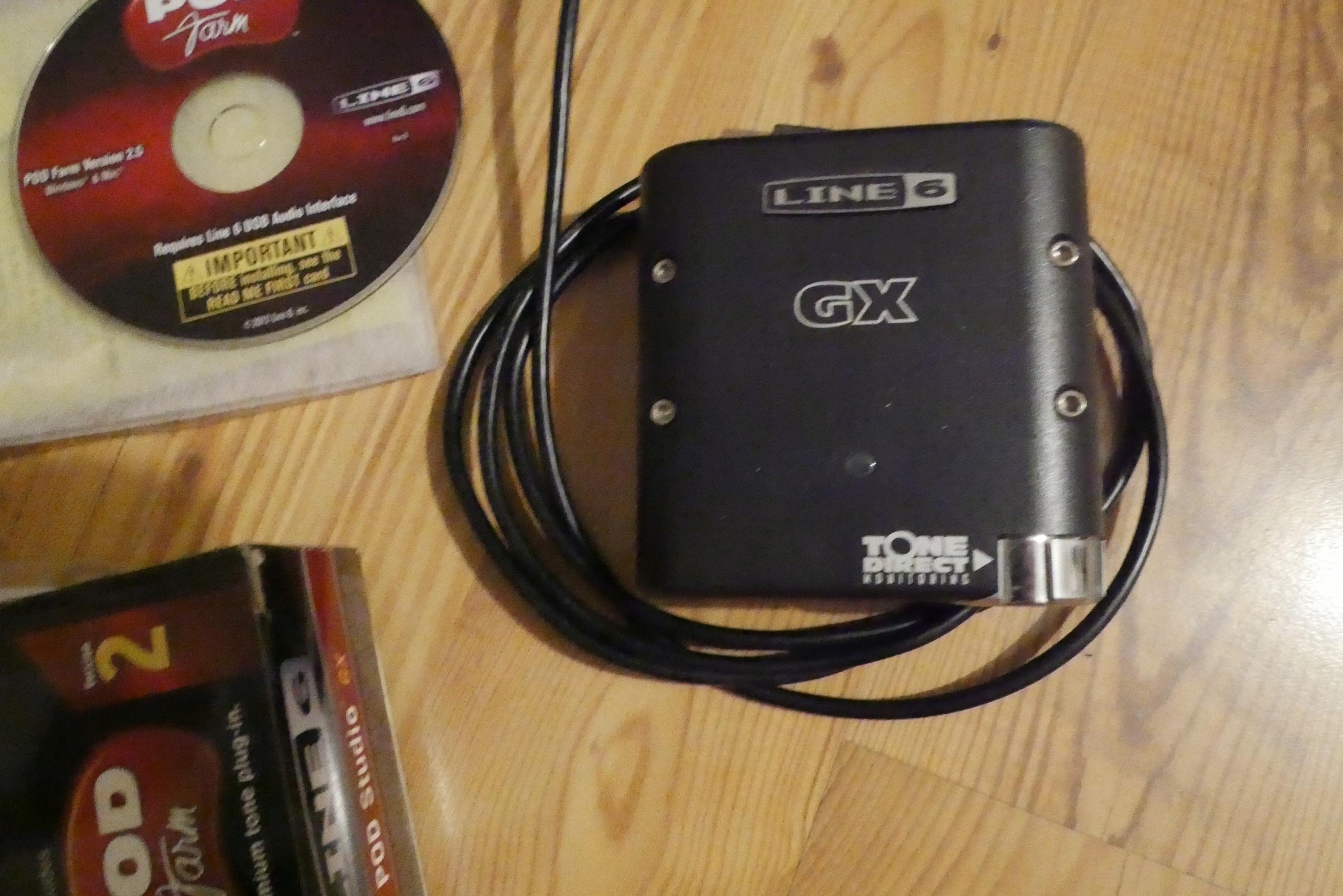 Studio Line 6 Gx interface muzyczny