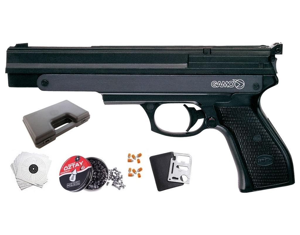 Wiatrówka pistolet GAMO PR-45 4,5mm PCA ZESTAW