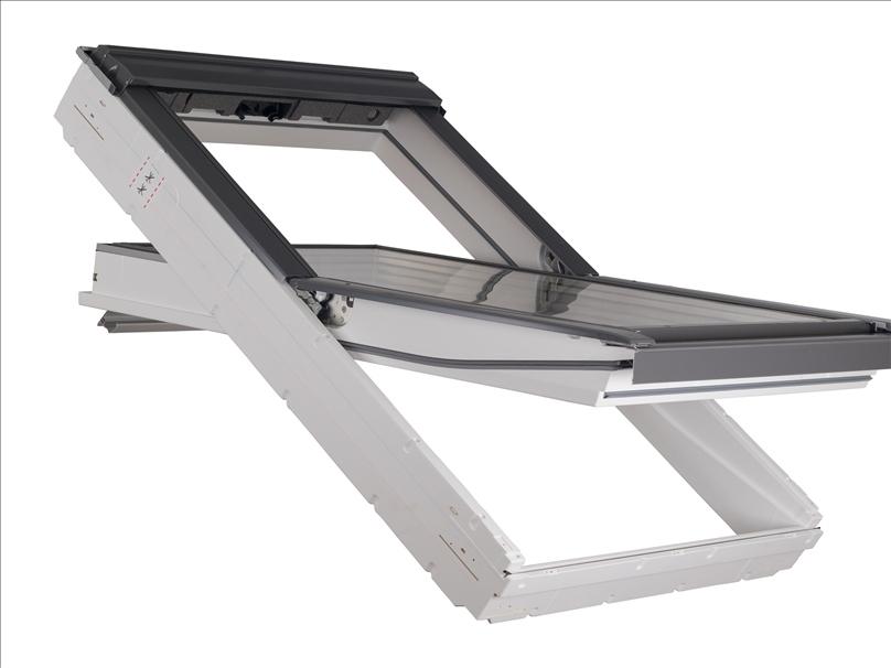 Okno Dachowe Do łazienki Velux 3 Szyby 78x118 Wys0