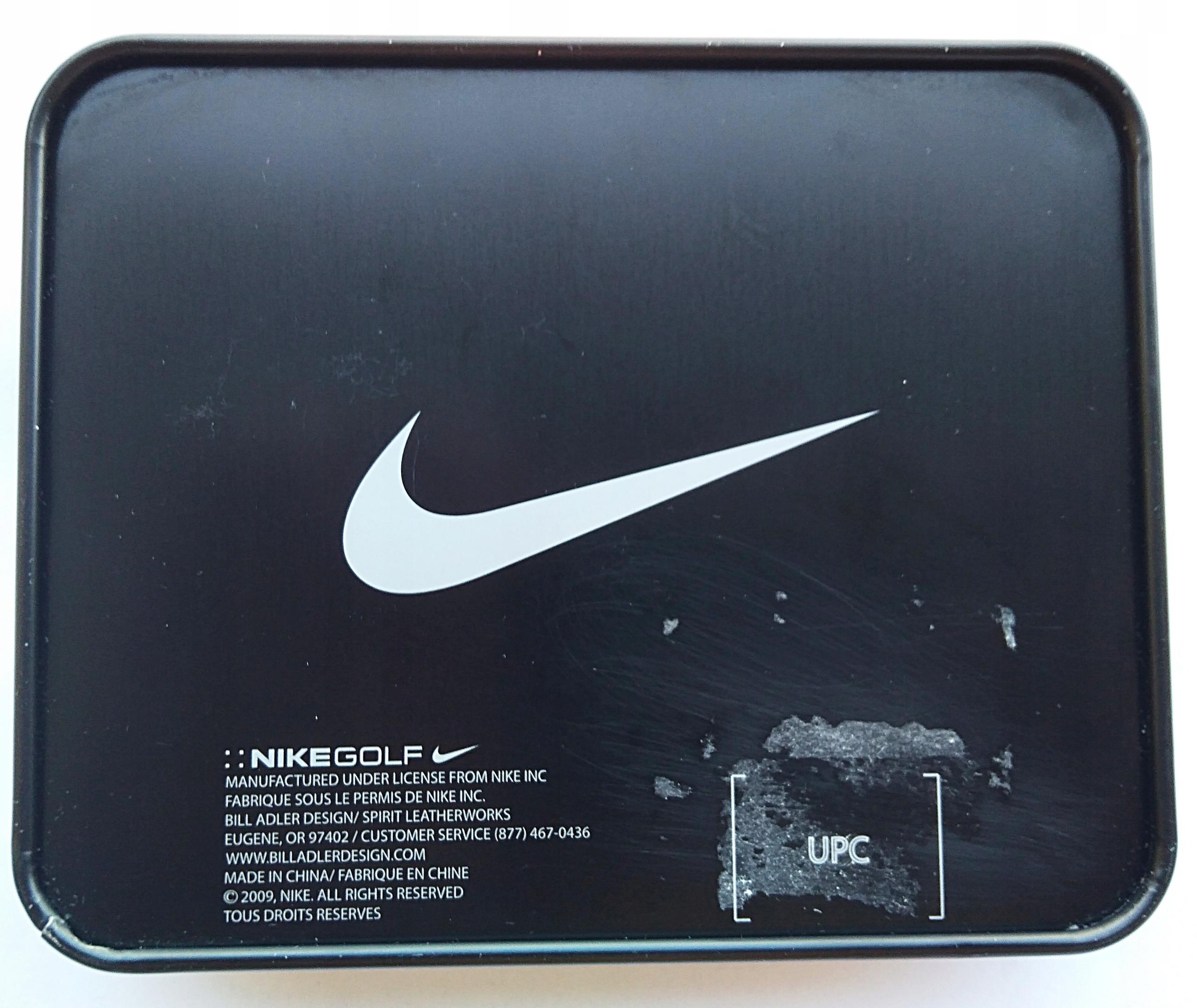 fe0cd6cc47eb5 Portfel Nike Golf z USA skóra OKAZJA!!! - 7477515089 - oficjalne ...