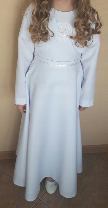95188faca3 ALBA sukienka I Komunia święta bolerko r. 134 - 7703730502 ...