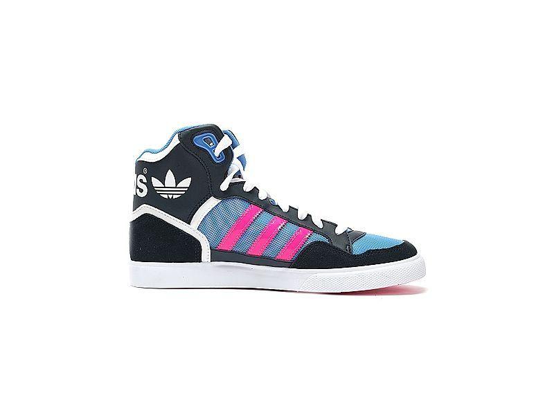 Buty damskie Originals Extaball Adidas (niebiesko czarne