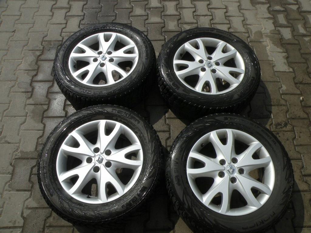 Renault Koleos Alufelgi Opony Zimowe 225 60 R17 7426508352