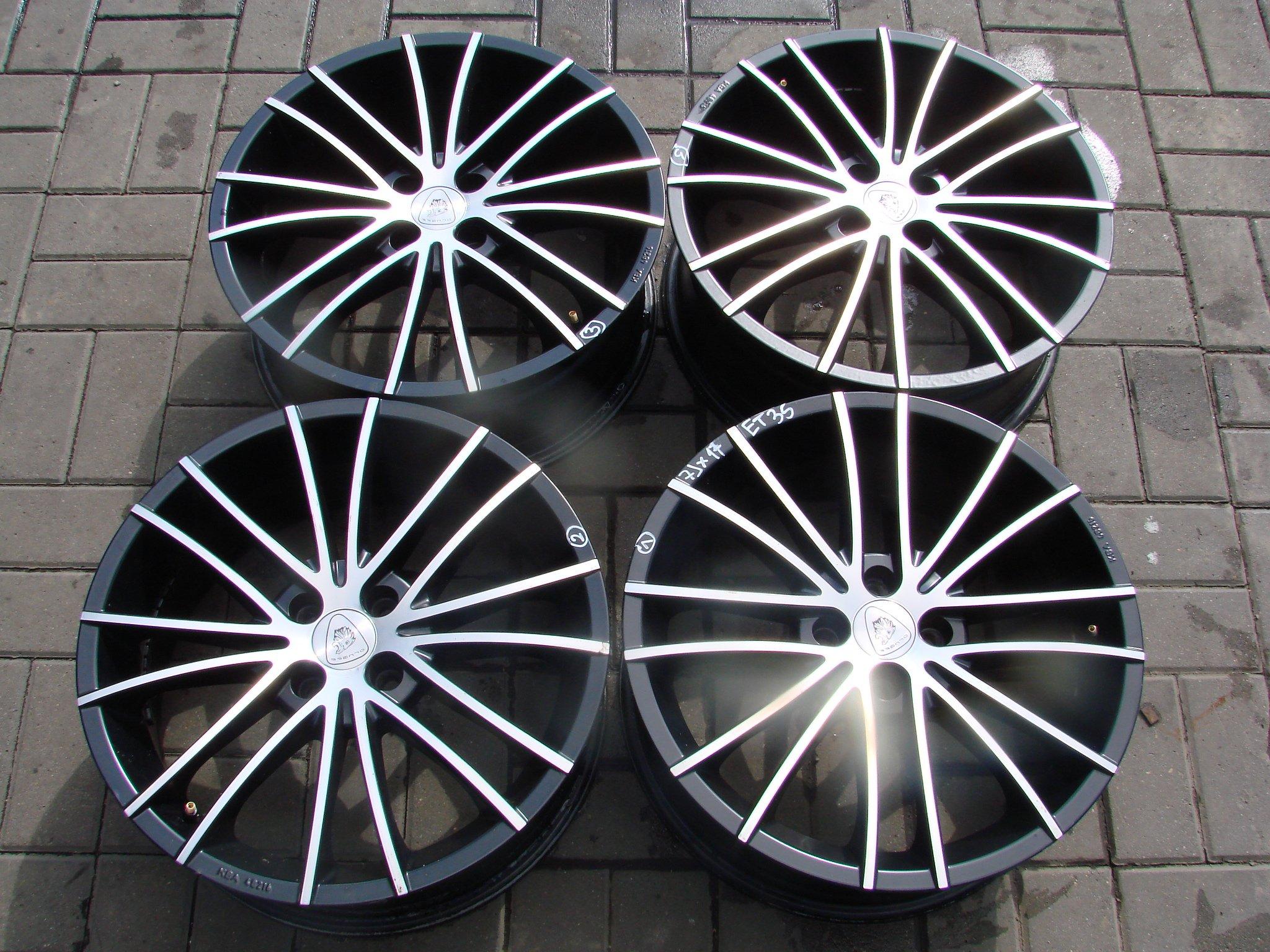 Felgi aluminiowe VW OPEL 4x100 7JX17H2 17 CALI