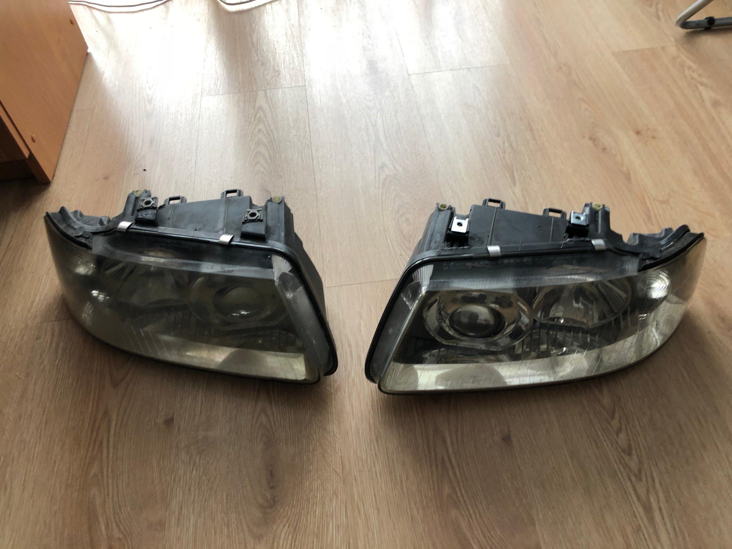 Lampy Przód Hella Audi A3 S3 8l 98 03 Polift 7215274028