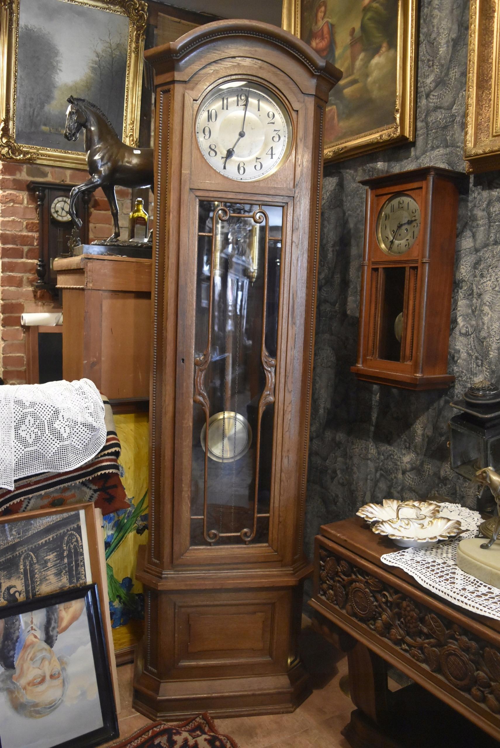 Przedwojenny Zegar Stojący Dufa 7573847826 Oficjalne