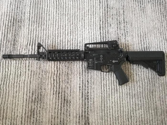 M4a1 LMT KWA Defender 4 RIS ASG