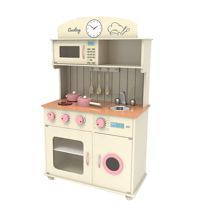 Drewniana Kuchnia Dla Dzieci Sofia Creme Tanio 7428776850
